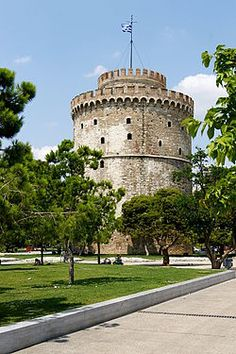The White Tower of Thessaloniki is the city's landmark  Grecia