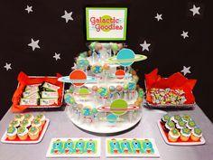 Galactic Goodies  Dessert Table - Space Themed Teacher Appreciation Week