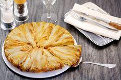 Recette de tarte tatin d'endives à la fourme d'Ambert