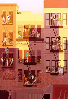 New York has more stories by Pascal Campion: nice conversation starter or describe the stories going on