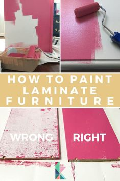There is a vital trick for successfully painting Ikea or laminate furniture and . - Ikea DIY - The best IKEA hacks all in one place Ikea Furniture Hacks, Furniture Projects, Furniture Design, Rustic Furniture, Furniture Stores, Antique Furniture, Modern Furniture, Furniture Plans, Ikea Furniture Makeover