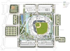 Marlins Park Stadium Plan - Miami, Florida