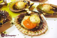 Spanish Kitchen, Spanish Food, Seafood Recipes, Cooking Recipes, Mediterranean Recipes, Fish And Seafood, International Recipes, Italian Recipes, Italian Foods