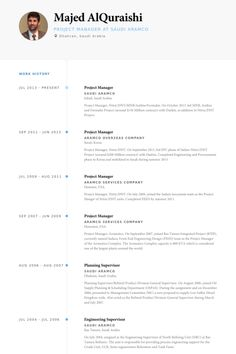 architecture resume format Real CV Examples & Resume Samples ...
