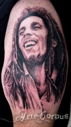 What does bob marley tattoo mean? We have bob marley tattoo ideas, designs, symbolism and we explain the meaning behind the tattoo. Tattoos With Meaning, Beautiful Tattoos, Tatoos, Ink, Celebrities, Image, Tattoo Ideas, Style, Bob Marley Tattoos