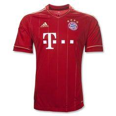 Bayern Munich Home Soccer Jersey Fc Bayern Munich, Basketball Jersey, Soccer Cleats, Football Soccer, Football Shirts, Soccer Jerseys, Real Madrid 2014, World Soccer Shop, Germany