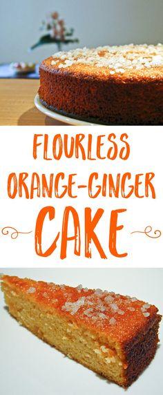 Gâteau à l'orange et au gingembre This is another cake I baked for our Goûter de Cousins last Sunday. I …