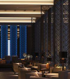SCDA Hotel & Mixed-Use Development, Nanjing, China- Jazz Bar