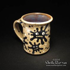 Microbe Mug by MotherSpoon on Etsy, $50.00