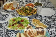 Algerian dinner party for a Turkish guest.  YES!