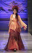 """Kristin Costa """"Joan of Arc"""" Fall/Winter 2013. Modeled by Nancy Ferris"""