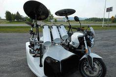 Batería sobre ruedas