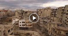 Drone Sobrevoa Síria e Capta Imagens Arrepiantes De Cinco Anos De Guerra