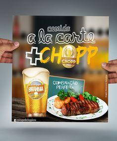 Job: Mídia Digital | Cliente: Quiosque do Chop | Software: Photoshop CS6.