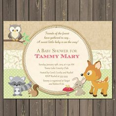 Woodland Baby Shower, Book Request, Invitation Insert, Floral Woodland,  First Birthday, Bring A Book Instead Of A Card, Girl Woodland   Cas, The  Ou0027jays And ...
