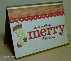 Crafting with Katie: Merry Christmas!