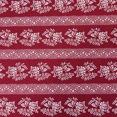 Bavlněná látka růžičky krajky v pruzích na vínové Rugs, Decor, Scrappy Quilts, Farmhouse Rugs, Decoration, Decorating, Rug, Deco