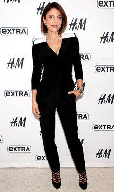 Bethenny Frankel in a black jumpsuit Bethenny Frankel, Skinny Girls, Fashion Gallery, Night Looks, Black Jumpsuit, All Things Beauty, Hair Today, Hair Looks, Get Dressed