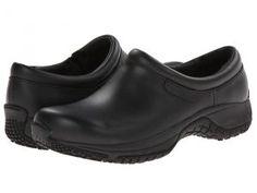 Merrell Encore Moc Pro Grip (Black) Women's Moccasin Shoes
