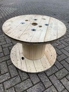 ≥ Houten kabel decoratie haspel - salontafel - Tafels | Salontafels - Marktplaats.nl