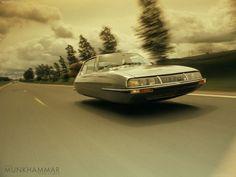 Flying Citroen SM by ~JacobMunkhammar on deviantART
