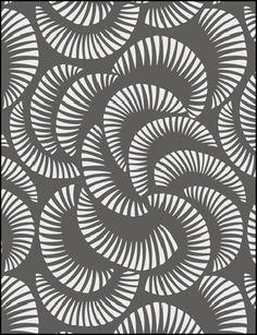 Modern Design Coral stencils, stensils and stencles