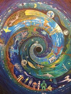 Painting Inspiration, Art Inspo, Gravure Illustration, Mandala, Quilt Modernen, Visionary Art, Sacred Art, Psychedelic Art, Sacred Geometry