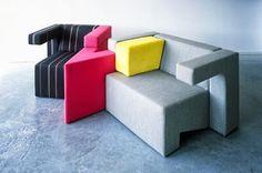 Modular To Gather Lounge Sofa by Studio Lawrence