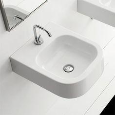 Scarabeo Next Waschtisch, Aufsatz- oder Wandhängemodell weiß 8047B 230 Euro