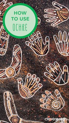 Tips and tricks for painting with traditional indigenous ochre