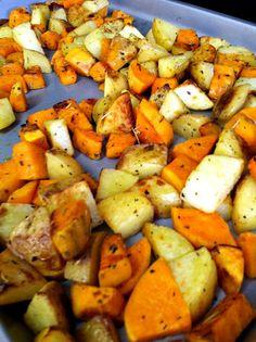 Blogghetti: Roasted Sweet Potatoes