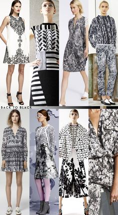 Resort 2015 Color Roundup - back to black