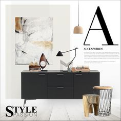 A for Accessories by szaboesz on Polyvore featuring interior, interiors, interior design, home, home decor and interior decorating