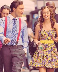 i am obsessed with blair's dress