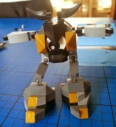 Lego Model 41504 Seismo Mixels Figure