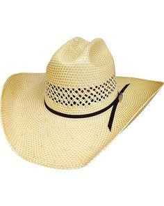 Bullhide Lettin  The Night Roll 100X Straw Hat 2e5de6b7bba2