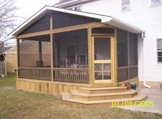 Screened-In Porch Designs - someday I'll get me one...