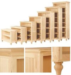 16 Deep Cottage Maple: Unfinished Furniture