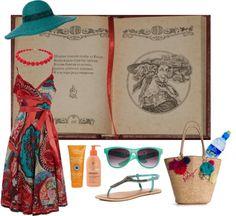 """""""Beach set"""" by elenastrelkova on Polyvore"""