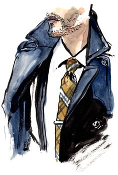 Kory Stevens of Taft Clothing talks his morning routine. Fashion Sketchbook, Fashion Sketches, Art Sketches, Watercolor Fashion, Watercolor Art, Illustration Mode, Painting Inspiration, Cute Drawings, Fashion Art