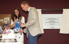 The Duke And Duchess Of Cambridge Visit Keech Hospice In Luton