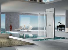 Box doccia in cristallo Pura 5000 New Collezione Aura by DUKA