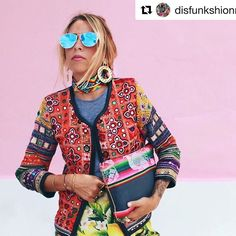 #jacket #embroidered #snazzy #photoshoot #boho #bohochic #oneofakind #statement #disfunkshionmag Beauty Editorial, Editorial Fashion, Editorial Photography, Fashion Photography, Photography Magazine, Runway Fashion, Fashion Models, Spring Fashion, Runway Models