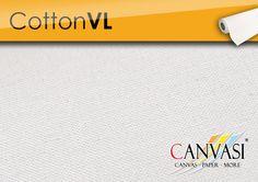 Cotton VL Canvas Paper, Cotton, Canvas