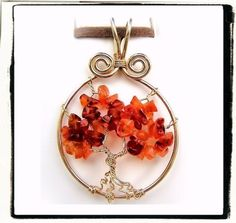 Wire Wrap Lesson Tree of Life Pendant Jewelry Tutorial