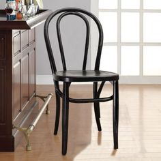 Vintage Style Solid Wood Dining Chair