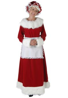 DIY girly Santa Claus Mrs Claus costume Perfect for any Christmas