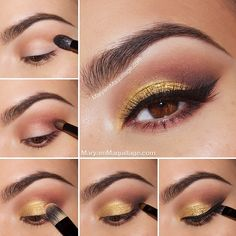 "#ShareIG Alright beauties, back to biznass‼️  Here's the tutorial for my ""Golden Sunset"" smokey eye using our #MotivesMavens ELEMENT palette and other @motivescosmetics products. GET YOURS at motivescosmetics.com/maryamnyc  (LINK IN MY BIO) or at global.shop.com/maryamnyc  always use code MARYAMNYC to get FREE SHIPPING WORLDWIDE ✈️✈️✈️ Golden Smokey Eye Tutorial: 1⃣ Apply #motivescosmetics eye base all over the lid. Using a stiff crease brush from the 15-piece pro brush set, apply ..."