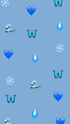 Pin Image by Aesthetic Paper Iphone Hintegründe, Emoji Wallpaper Iphone, Butterfly Wallpaper Iphone, Mood Wallpaper, Cute Wallpaper For Phone, Heart Wallpaper, Iphone Background Wallpaper, Cute Disney Wallpaper, Pastel Wallpaper