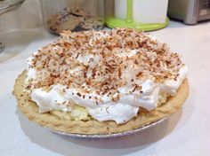 Just a Spoonful of: Dorie's Rich and Easy Coconut Cream Pie